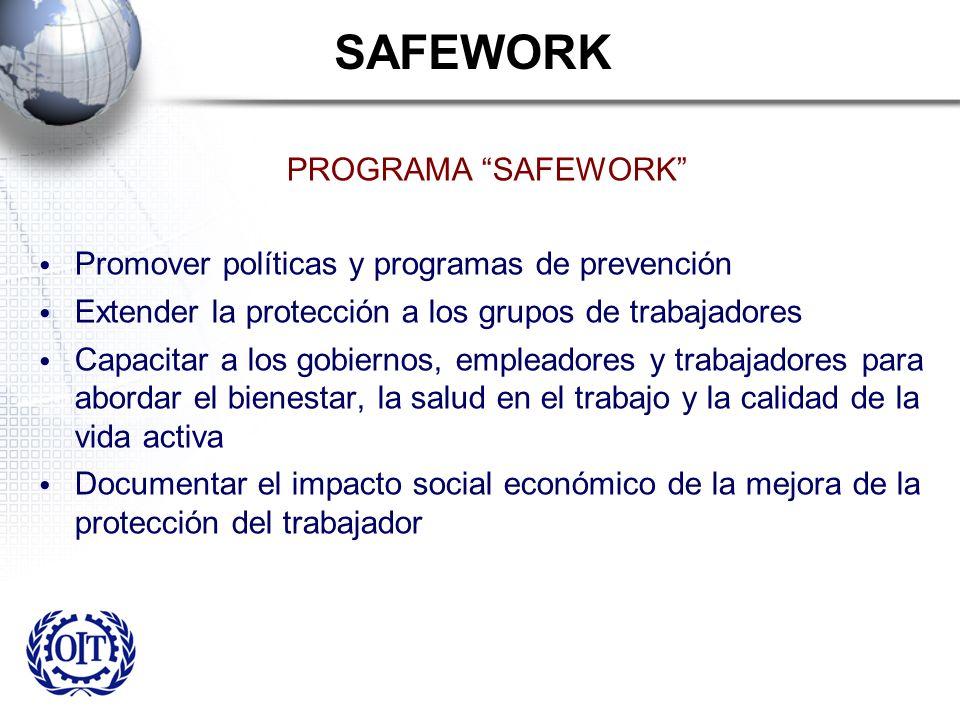SAFEWORK PROGRAMA SAFEWORK