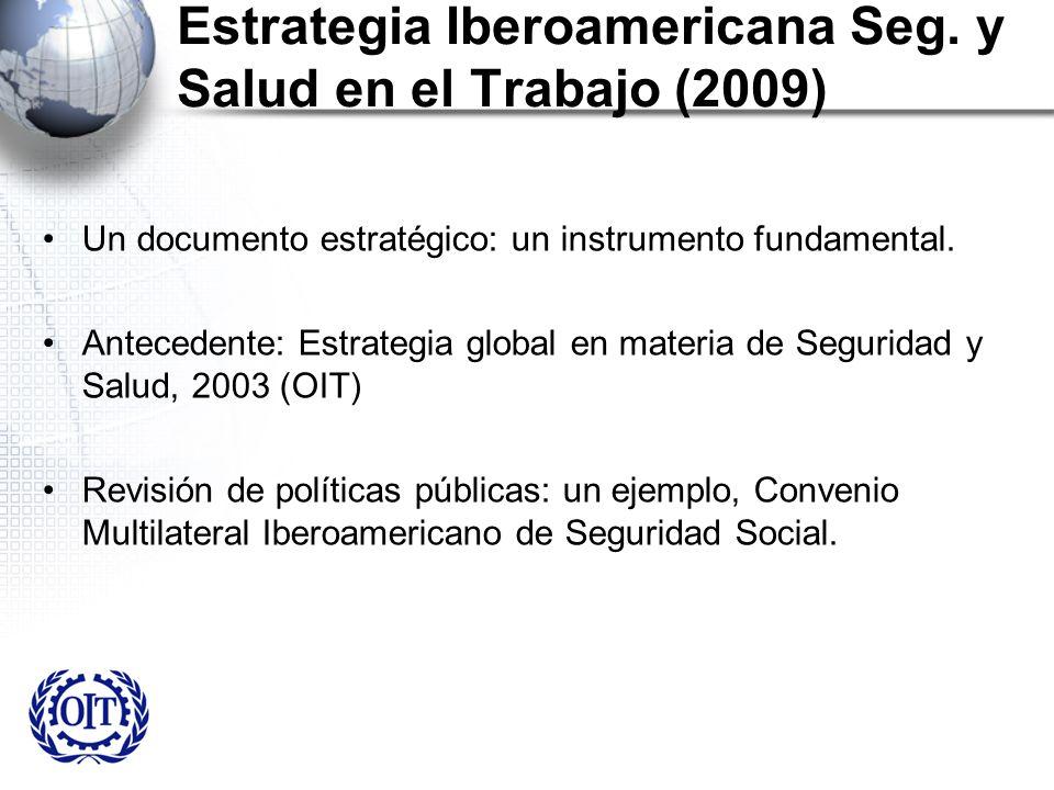 Estrategia Iberoamericana Seg. y Salud en el Trabajo (2009)
