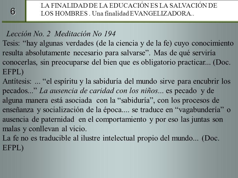 6 Lección No. 2 Meditación No 194