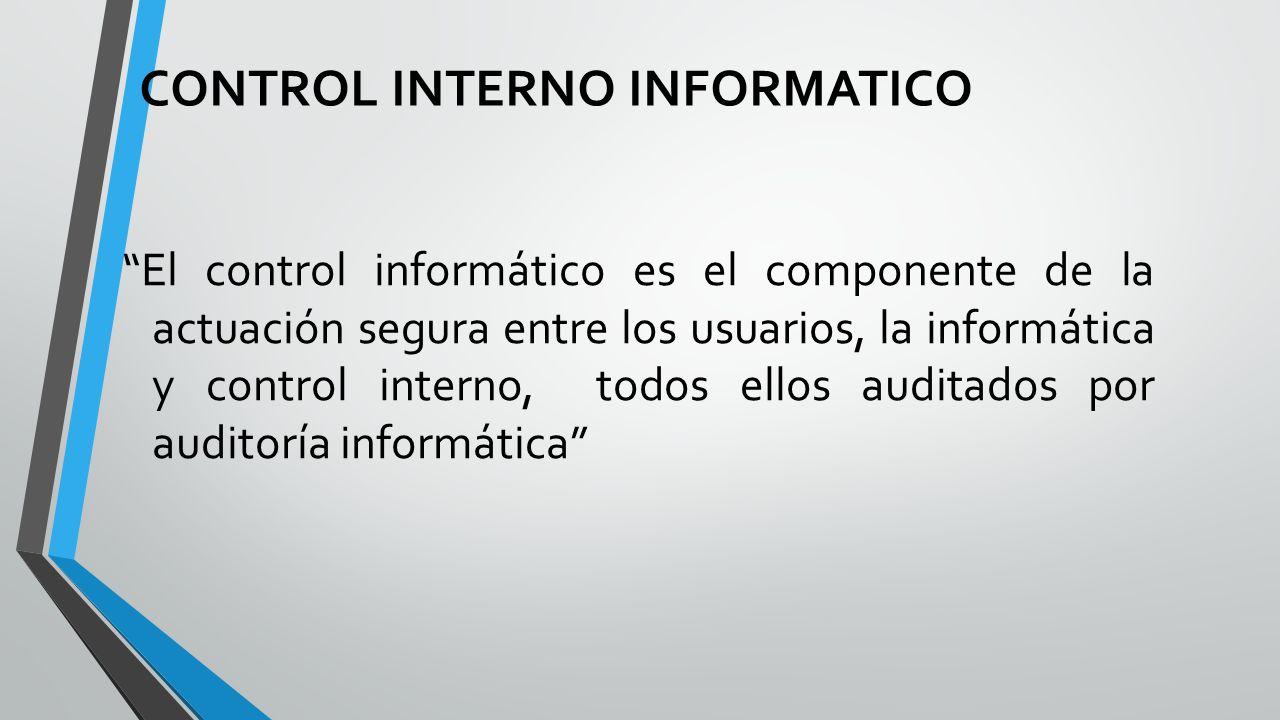Desarrollo CONTROL+INTERNO+INFORMATICO