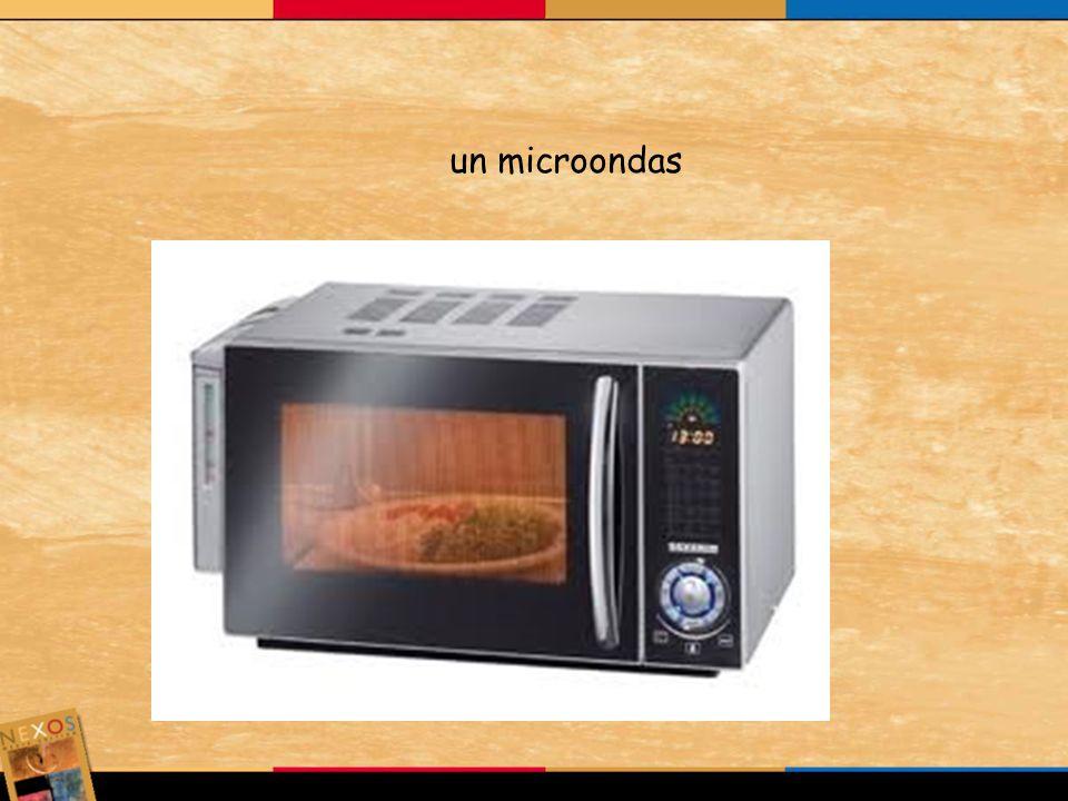 un microondas