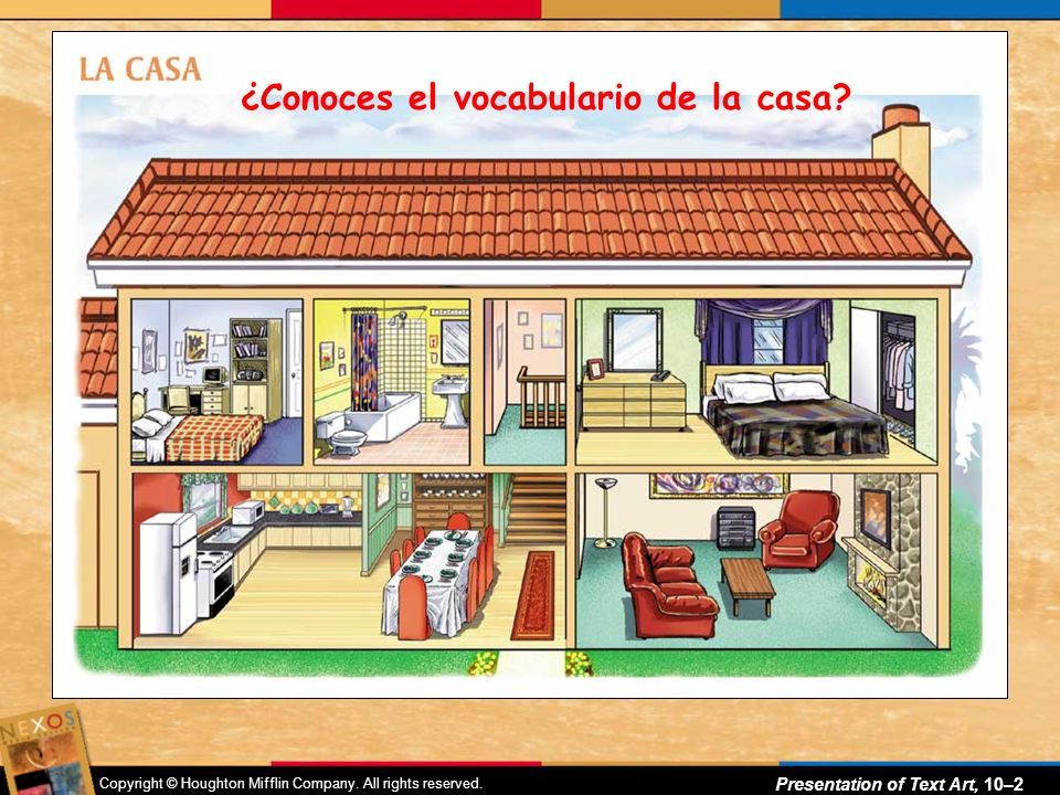 ¿Conoces el vocabulario de la casa