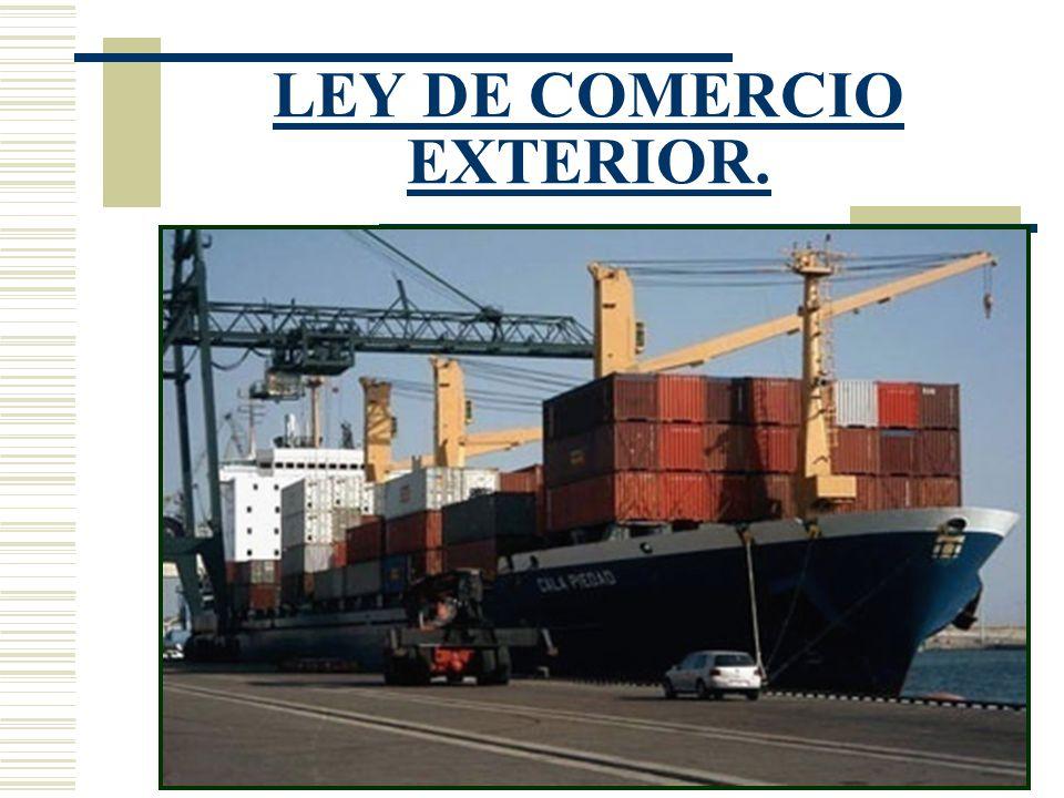 Legislaci n de comercio exterior ppt descargar for De comercio exterior