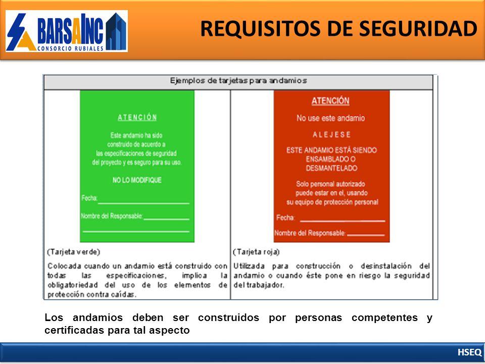 Requisitos de seguridad ppt descargar for Escaleras portatiles certificadas