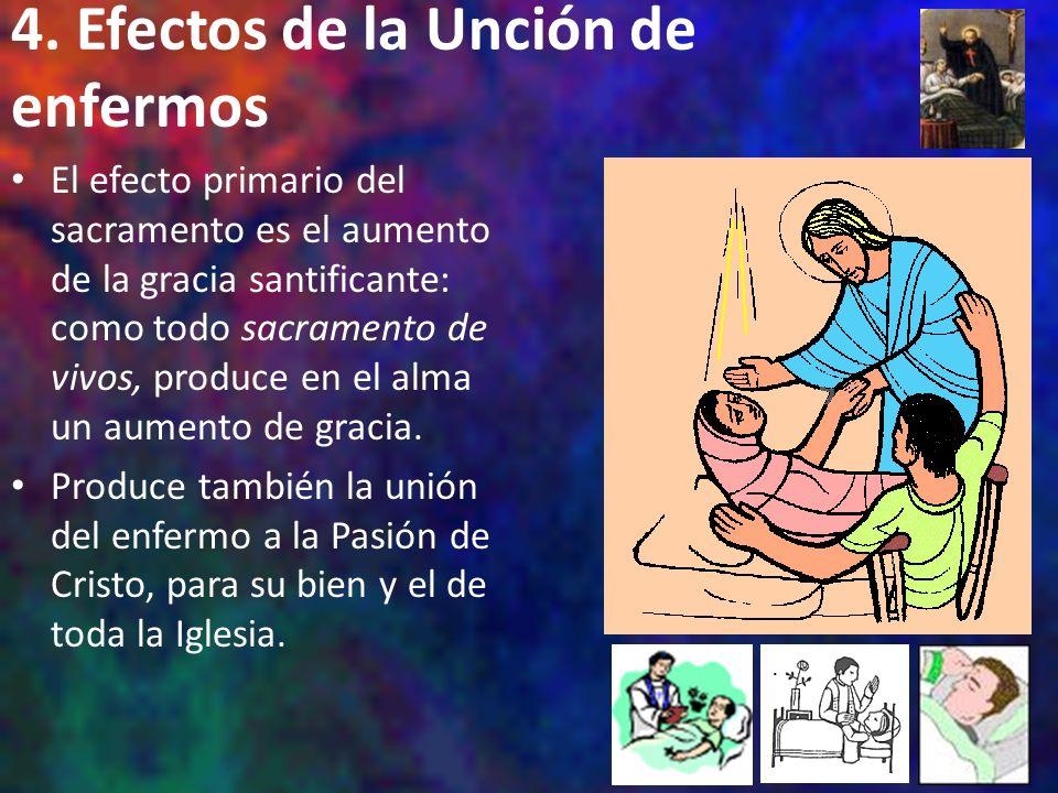 4. Efectos de la Unción de enfermos