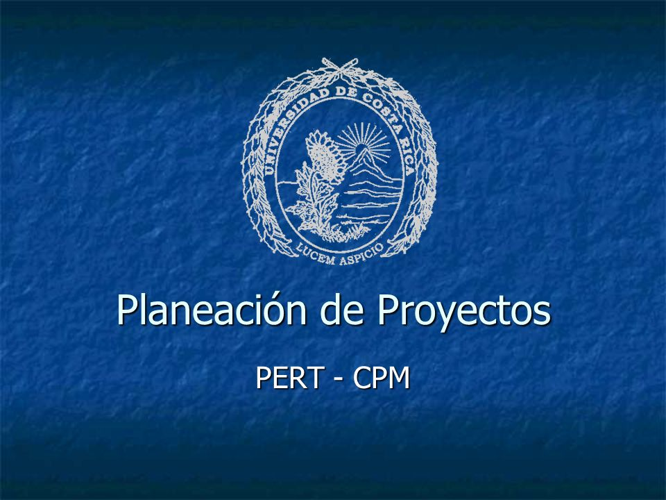 Planeación de Proyectos