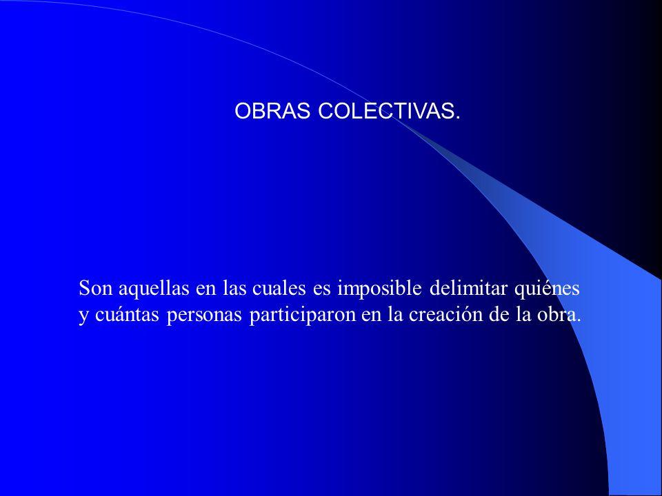 OBRAS COLECTIVAS.
