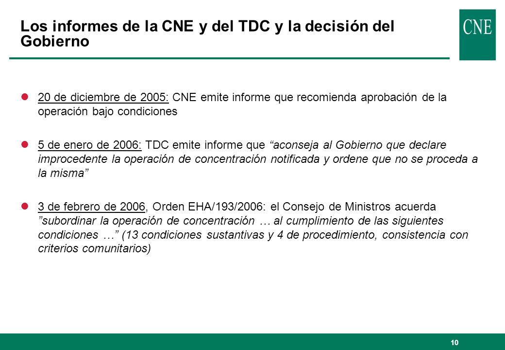 Los informes de la CNE y del TDC y la decisión del Gobierno