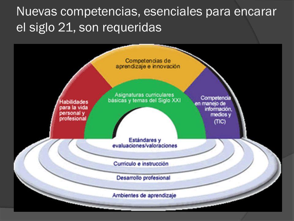 Nuevas competencias, esenciales para encarar el siglo 21, son requeridas