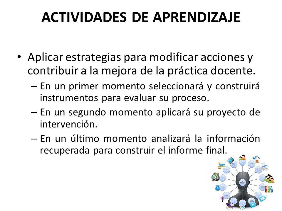 ACTIVIDADES DE APRENDIZAJE