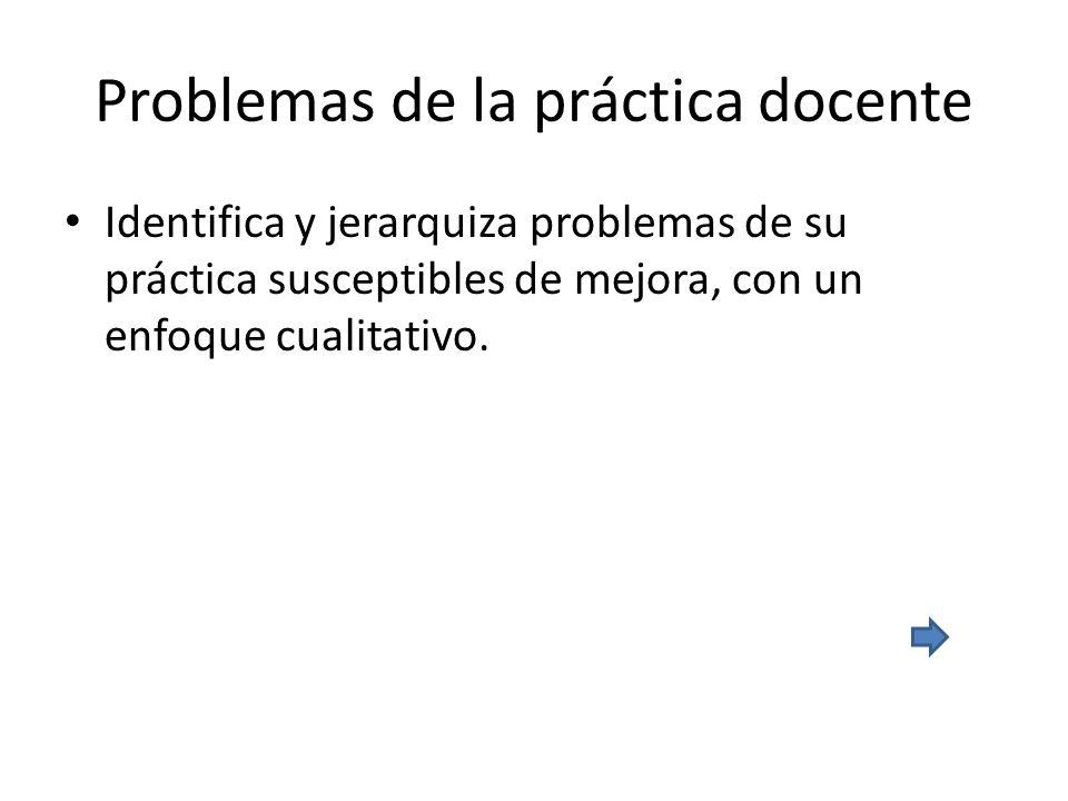 Problemas de la práctica docente