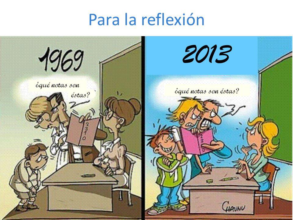 Para la reflexión 2013