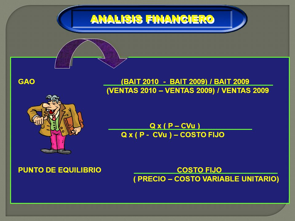ANALISIS FINANCIERO GAO (BAIT BAIT 2009) / BAIT 2009