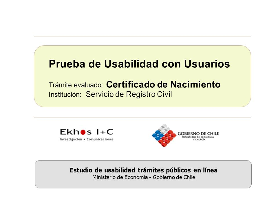 Estudio de usabilidad trámites públicos en línea