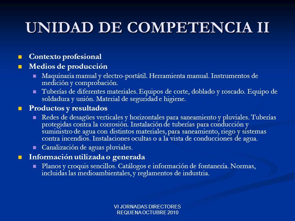 UNIDAD DE COMPETENCIA II