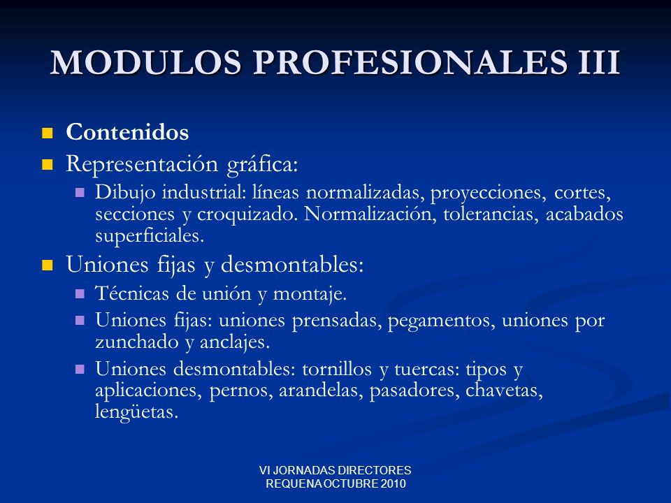 MODULOS PROFESIONALES III