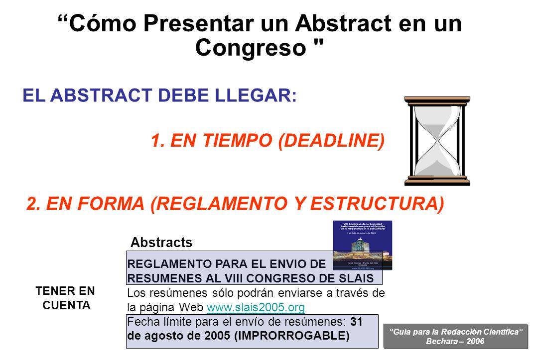EL ABSTRACT DEBE LLEGAR:
