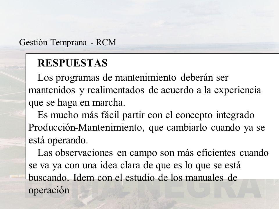 Gestión Temprana - RCM RESPUESTAS.