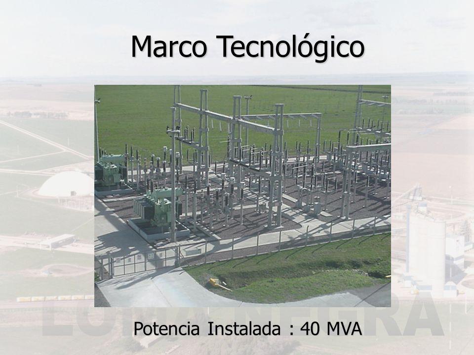 Potencia Instalada : 40 MVA