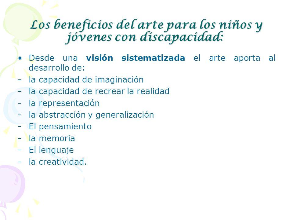 Los beneficios del arte para los niños y jóvenes con discapacidad:
