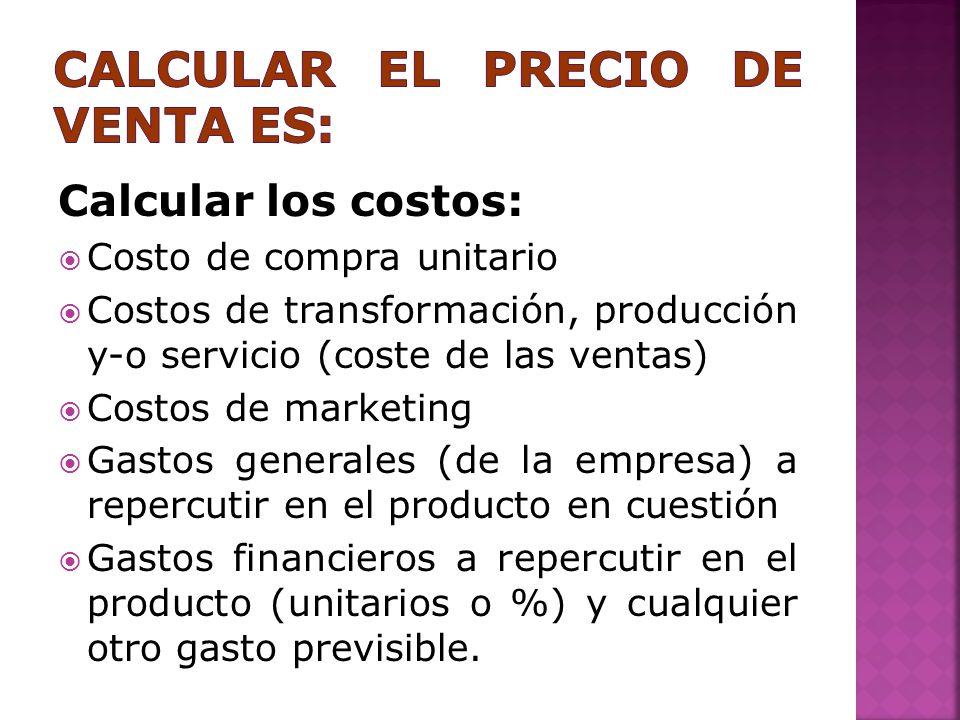 Plan de ventas alfonso enrique herrera granados ppt - Calcular gastos compra garaje ...