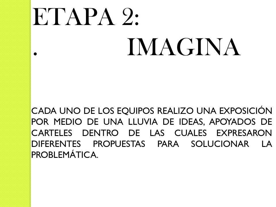 ETAPA 2: . IMAGINA