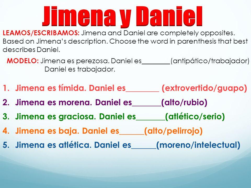Jimena y Daniel