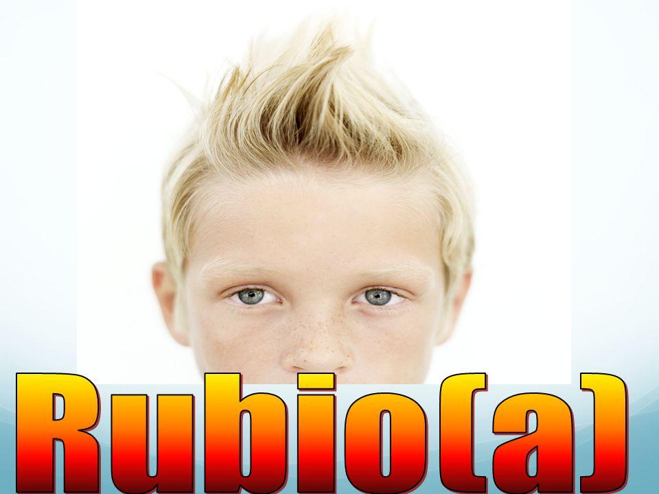 Rubio(a)