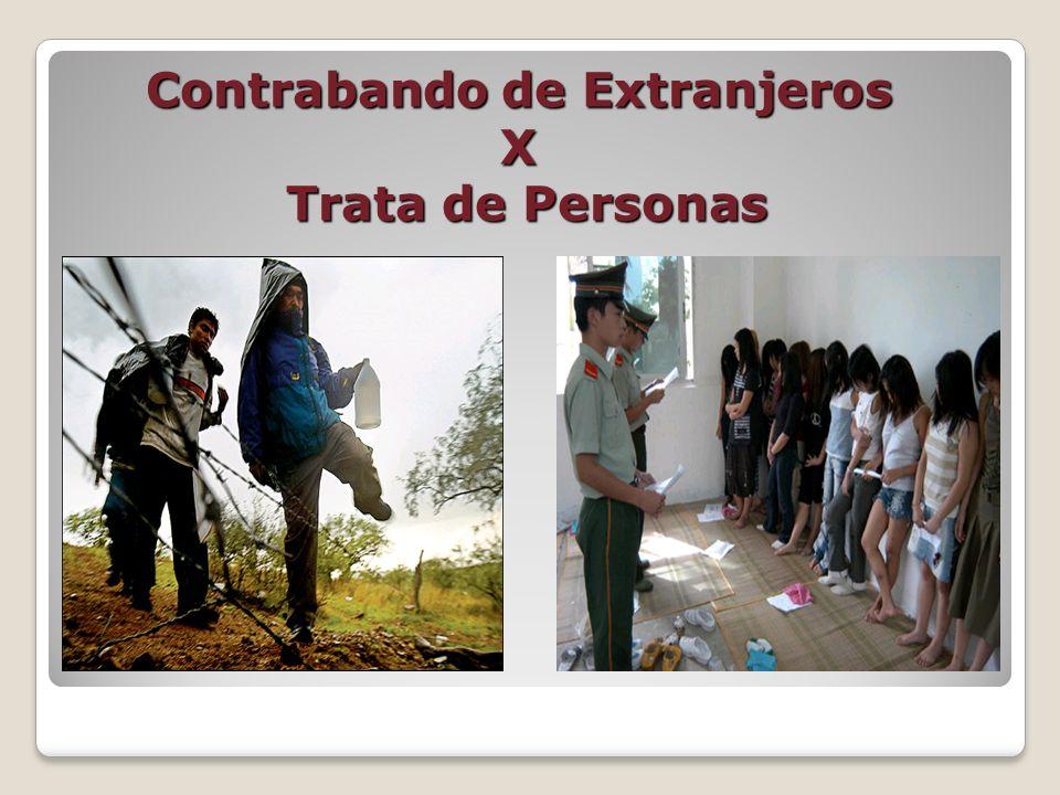 Contrabando de Extranjeros X Trata de Personas