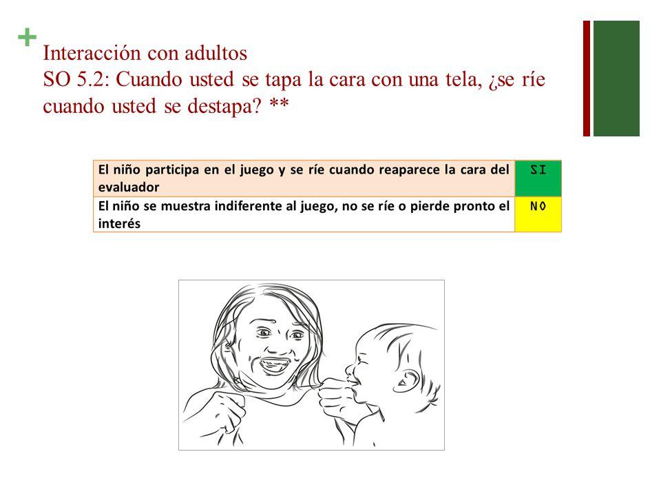 Interacción con adultos SO 5