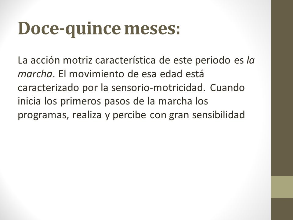 Doce-quince meses: