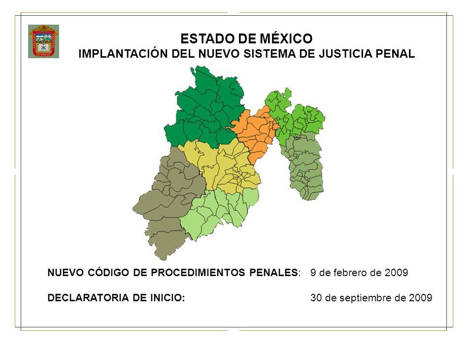 IMPLANTACIÓN DEL NUEVO SISTEMA DE JUSTICIA PENAL