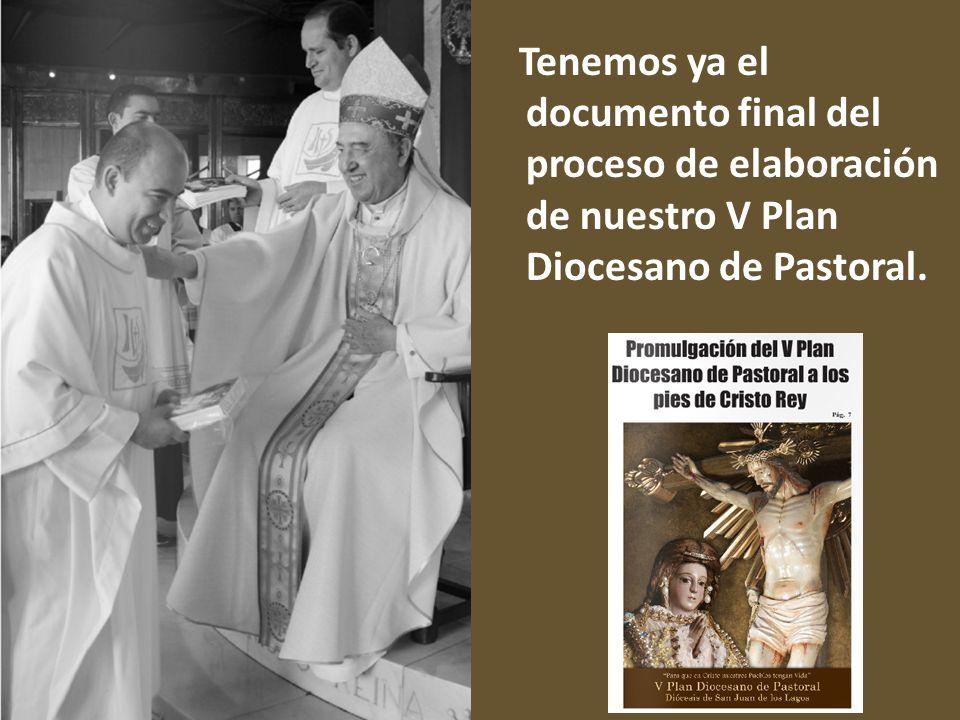 Tenemos ya el documento final del proceso de elaboración de nuestro V Plan Diocesano de Pastoral.