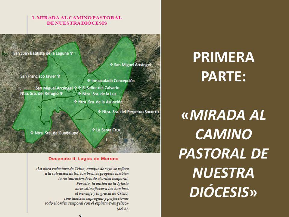 PRIMERA PARTE: «MIRADA AL CAMINO PASTORAL DE NUESTRA DIÓCESIS»