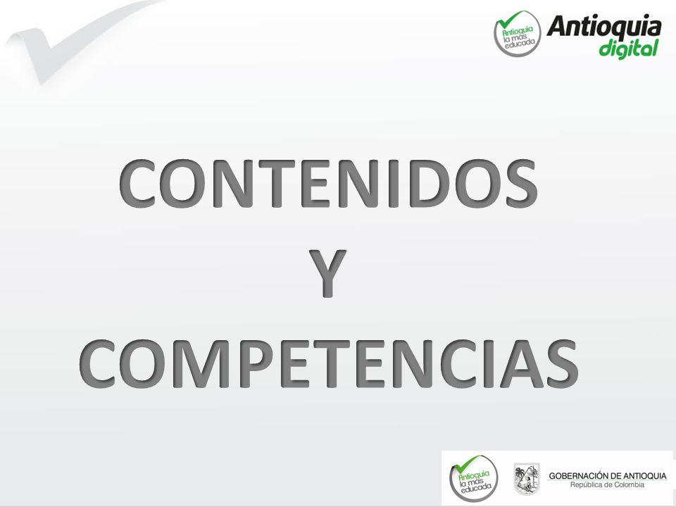 CONTENIDOS Y COMPETENCIAS