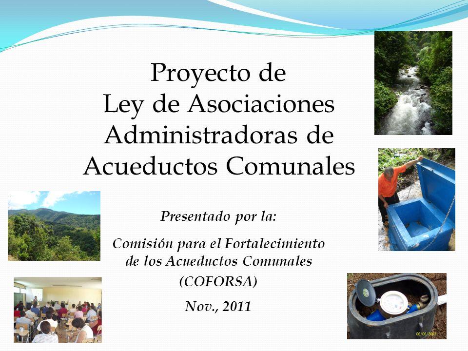 Comisión para el Fortalecimiento de los Acueductos Comunales