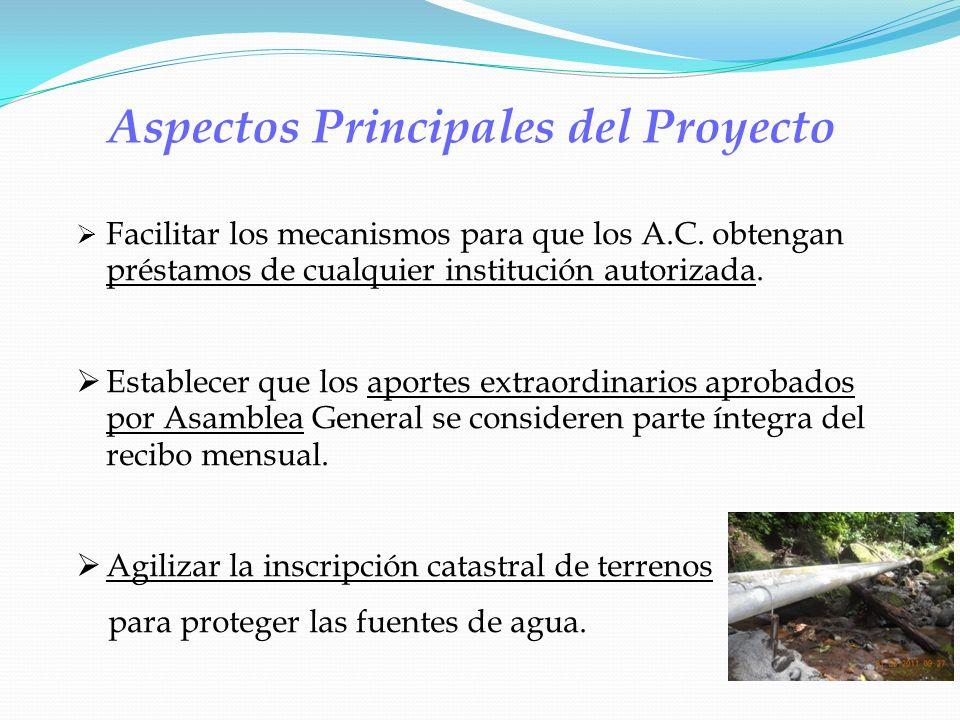 Aspectos Principales del Proyecto