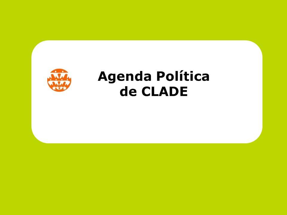 Agenda Política de CLADE