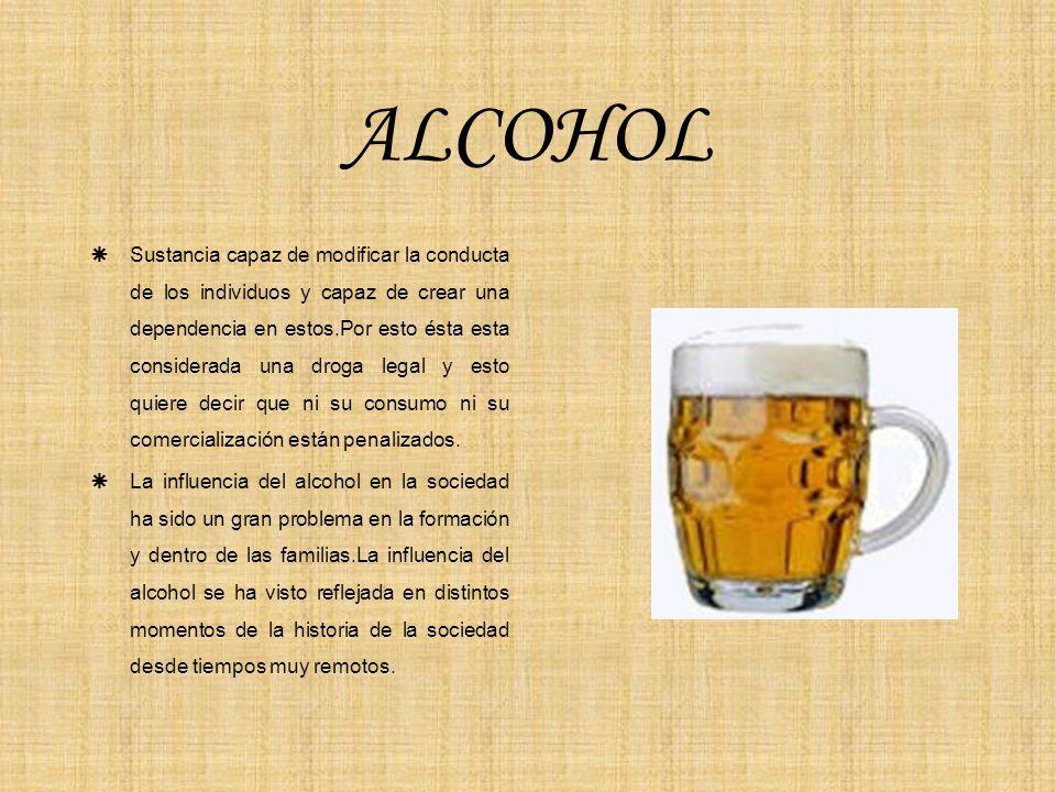 La codificación alcohólica de la consecuencia