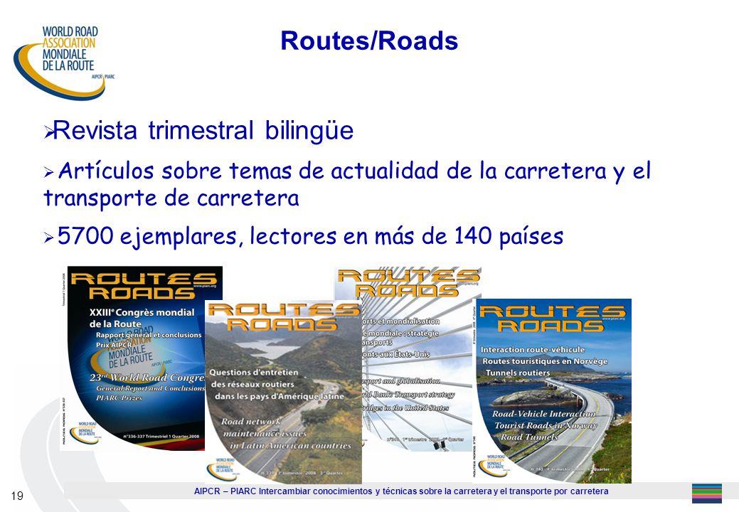 Revista trimestral bilingüe
