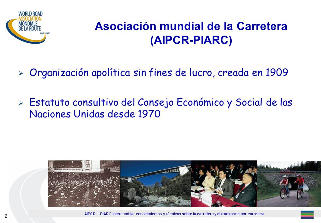 Asociación mundial de la Carretera (AIPCR-PIARC)