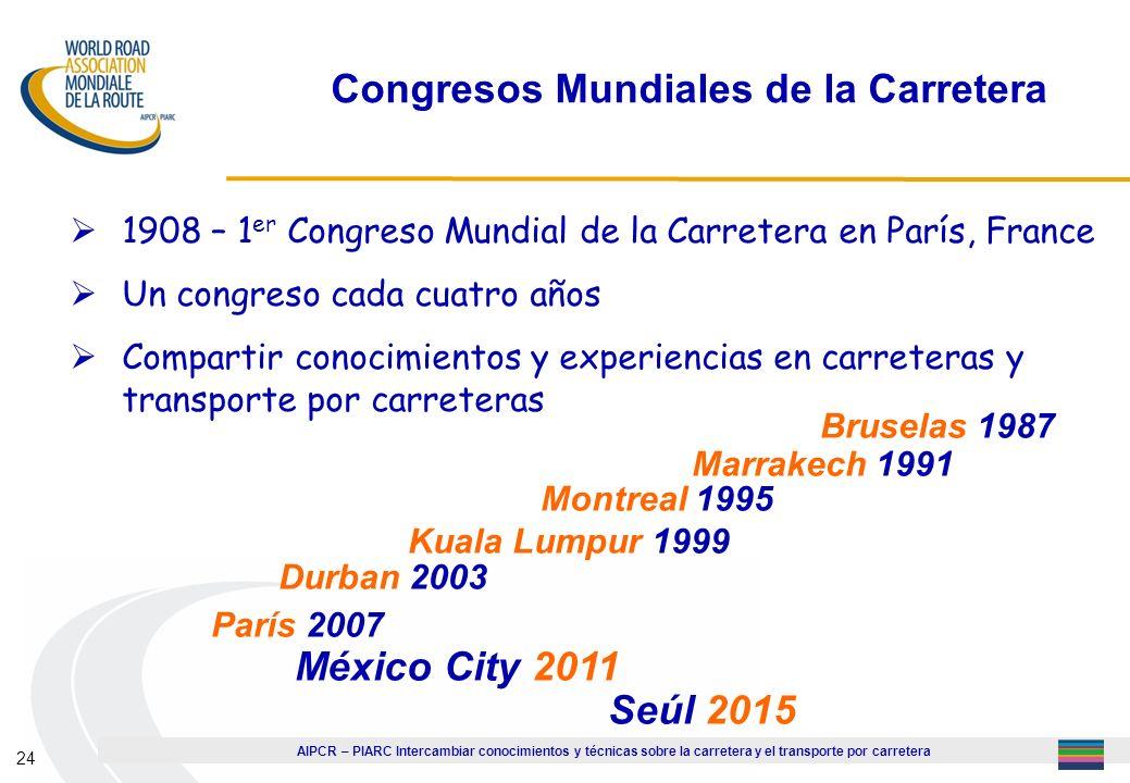Congresos Mundiales de la Carretera