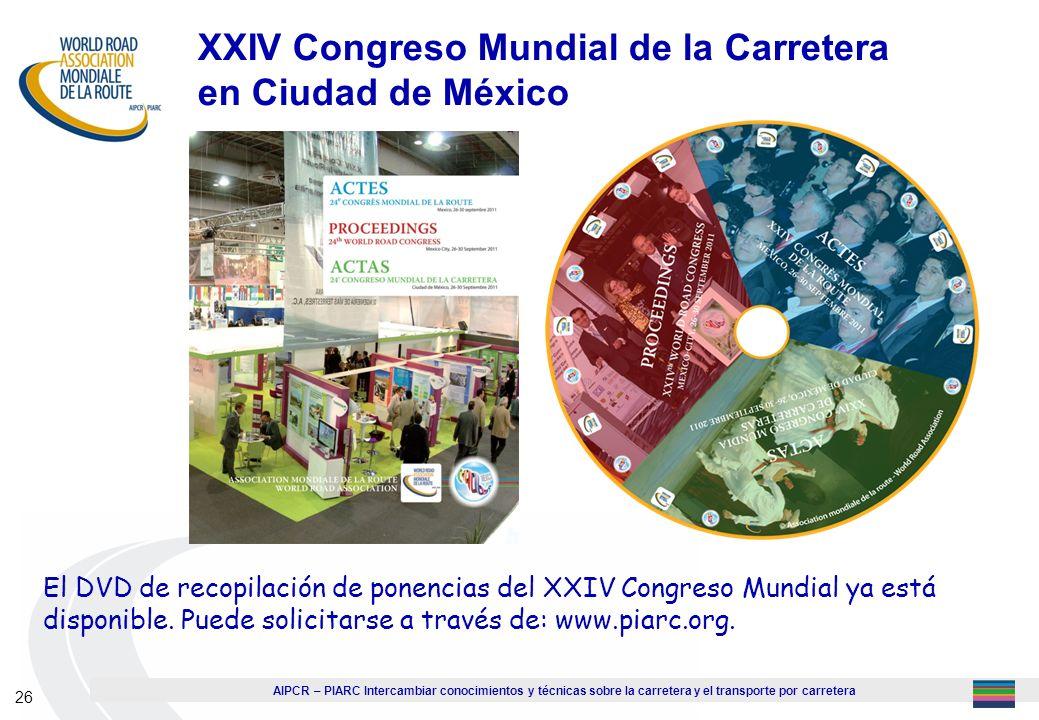 XXIV Congreso Mundial de la Carretera en Ciudad de México