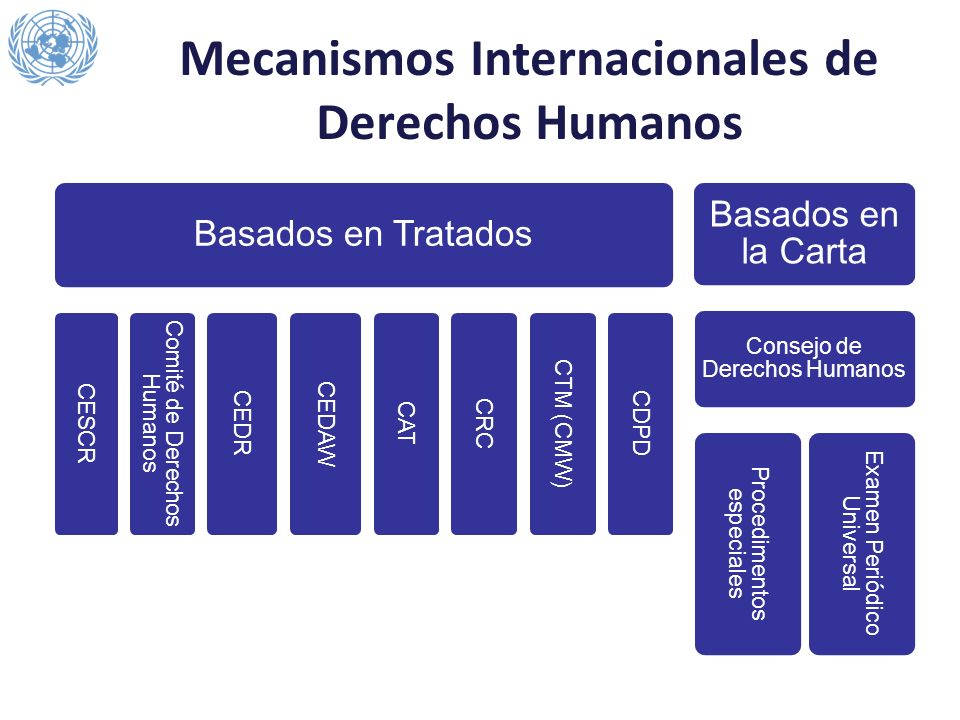 Mecanismos Internacionales de Derechos Humanos