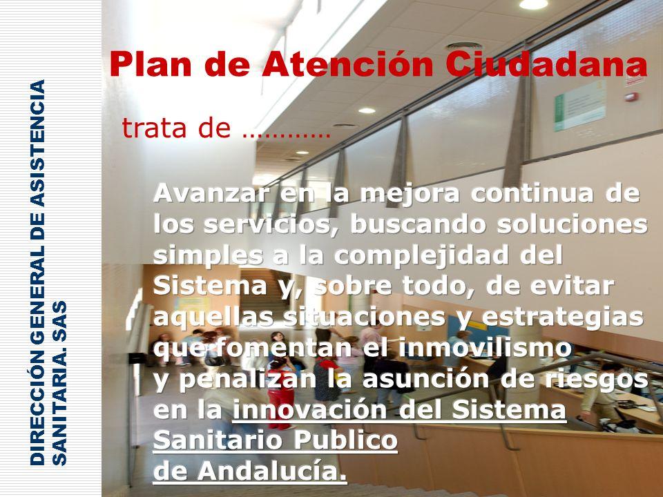 Plan de Atención Ciudadana