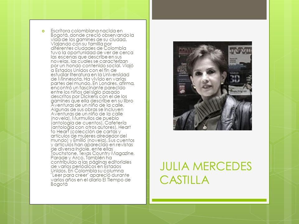 JULIA MERCEDES CASTILLA