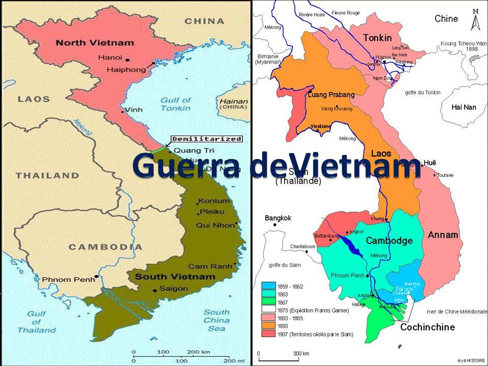 Guerra De Vietnam Mapa.Guerra Devietnam Ppt Video Online Descargar