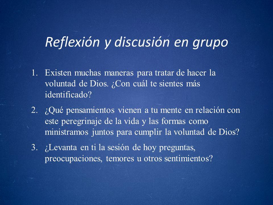 Reflexión y discusión en grupo
