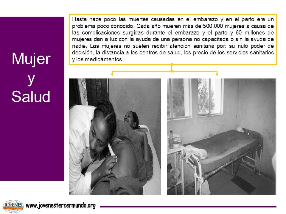 Mujer y Salud www.jovenestercermundo.org
