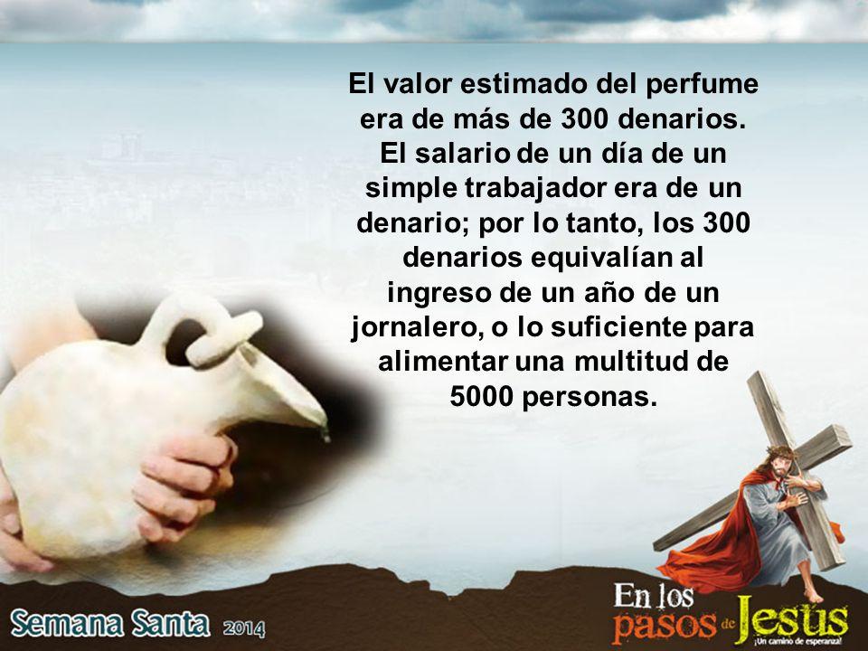 Resultado de imagen para PERFUME MUY CARO 300 DENARIOS